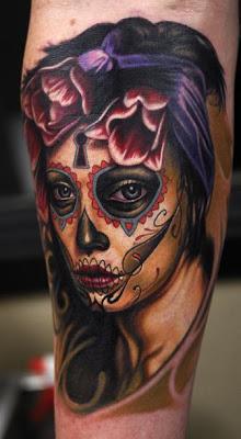 imagenes catrinas tattoo tatuajes 44 » 97 Geniales Tatuajes de Catrinas (+Significados) 79