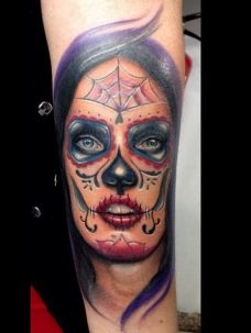 imagenes catrinas tattoo tatuajes 5 • 2020 » 97 Geniales Tatuajes de Catrinas (+Significados) Catrina Tattoo 40