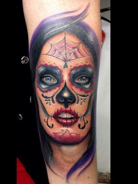 imagenes catrinas tattoo tatuajes 5 » 97 Geniales Tatuajes de Catrinas (+Significados) 40