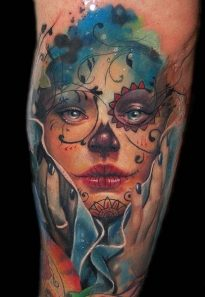 imagenes catrinas tattoo tatuajes 51 • 2020 » 97 Geniales Tatuajes de Catrinas (+Significados) Catrina Tattoo 86