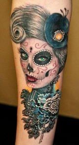 imagenes catrinas tattoo tatuajes 52 • 2020 » 97 Geniales Tatuajes de Catrinas (+Significados) Catrina Tattoo 87