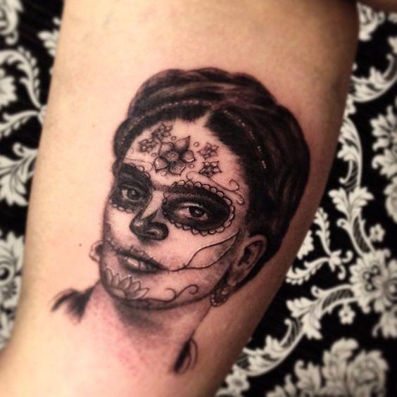 imagenes catrinas tattoo tatuajes 53 » 97 Geniales Tatuajes de Catrinas (+Significados) 88