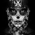 catrinas diseños bocetos tatuajes 15 » 50 Diseños de Catrinas y Bocetos de Tatuajes de Calaveras Mexicanas 23