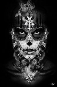 catrinas diseños bocetos tatuajes 15 » catrinas-diseños-bocetos-tatuajes (15) 3