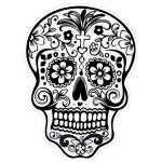 catrinas diseños bocetos tatuajes 2 » 50 Diseños de Catrinas y Bocetos de Tatuajes de Calaveras Mexicanas 5