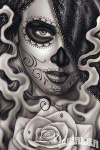 catrinas diseños bocetos tatuajes 3 » catrinas-diseños-bocetos-tatuajes (3) 3