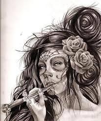 catrinas diseños bocetos tatuajes 37 » catrinas-diseños-bocetos-tatuajes (37) 3
