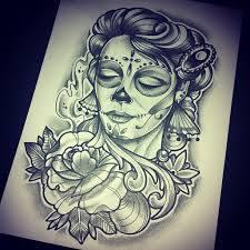 catrinas diseños bocetos tatuajes 38 » catrinas-diseños-bocetos-tatuajes (38) 3