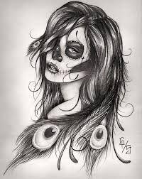 catrinas diseños bocetos tatuajes 39 » catrinas-diseños-bocetos-tatuajes (39) 3