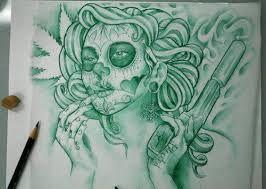 catrinas diseños bocetos tatuajes 41 » catrinas-diseños-bocetos-tatuajes (41) 3