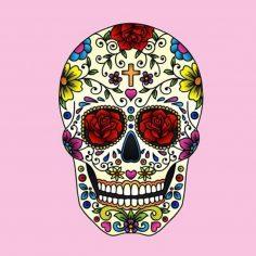 catrinas diseños bocetos tatuajes 45 • 2020 » 50 Diseños de Catrinas y Bocetos de Tatuajes de Calaveras Mexicanas 7