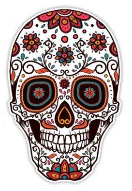 catrinas diseños bocetos tatuajes 47 • 2020 » 50 Diseños de Catrinas y Bocetos de Tatuajes de Calaveras Mexicanas 9