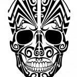 catrinas diseños bocetos tatuajes 9 » 50 Diseños de Catrinas y Bocetos de Tatuajes de Calaveras Mexicanas 6