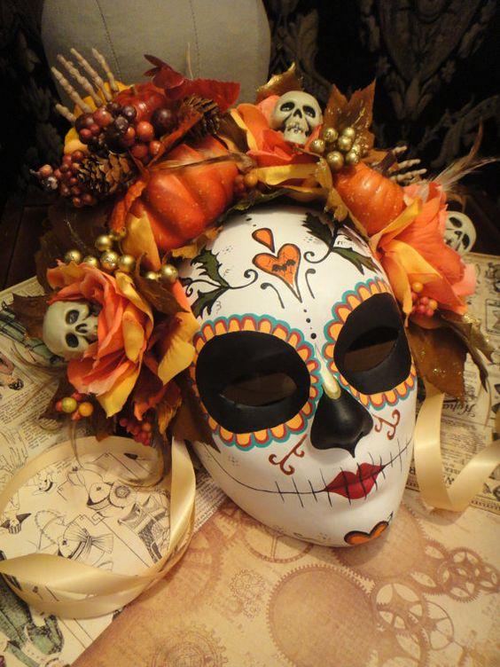 mascaras de catrinas decoradas 12 » Máscaras de Catrinas: Ideas y Ofertas 2