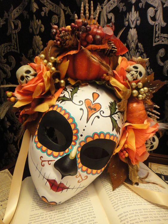 mascaras de catrinas decoradas 2 » Máscaras de Catrinas: Ideas y Ofertas 11
