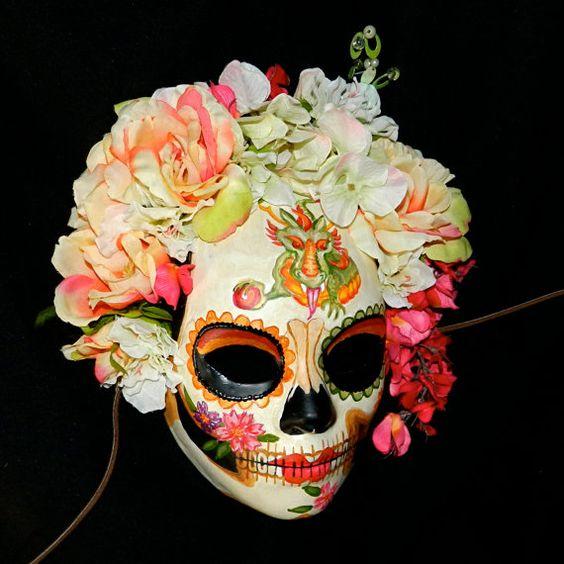 mascaras de catrinas decoradas 5 » Máscaras de Catrinas: Ideas y Ofertas 10