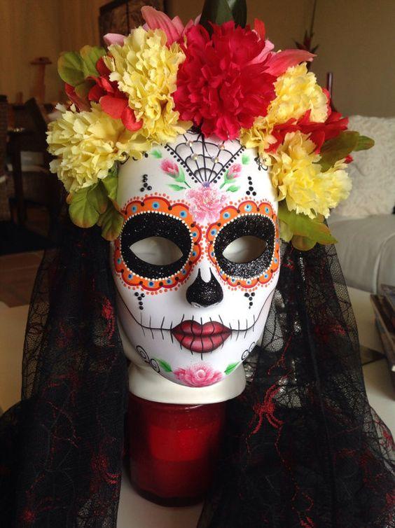 mascaras de catrinas decoradas 7 » Máscaras de Catrinas: Ideas y Ofertas 6