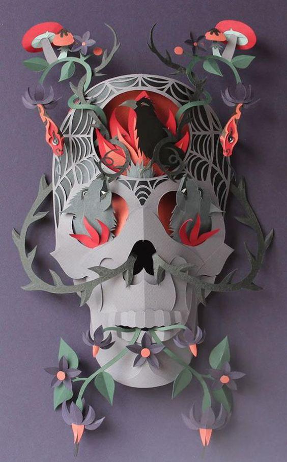 mascaras de catrinas papel 3 » Máscaras de Catrinas: Ideas y Ofertas 15