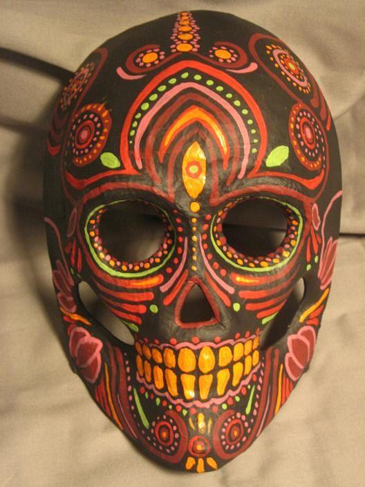 mascaras de catrinas papel 4 » Máscaras de Catrinas: Ideas y Ofertas 14