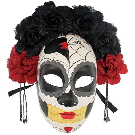 mascaras de catrinas papel 6 » Máscaras de Catrinas: Ideas y Ofertas 12