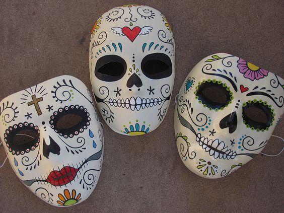 mascaras de catrinas papel 8 » Máscaras de Catrinas: Ideas y Ofertas 20
