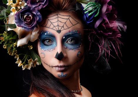 peinados catrinas 2 • 2020 » 30 Ideas Geniales de Peinados de Catrinas Mexicanas 11