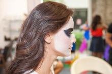 peinados de catrinas 5 • 2020 » 30 Ideas Geniales de Peinados de Catrinas Mexicanas 8