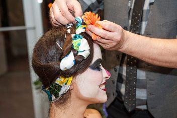 peinados de catrinas 9 • 2020 » 30 Ideas Geniales de Peinados de Catrinas Mexicanas 11