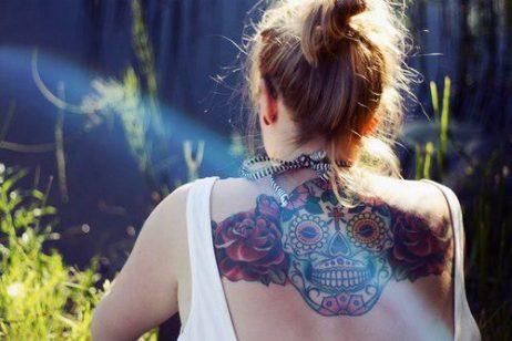 tatuajes calaveras mexicanas tattoo 2 • 2020 » 33 Tatuajes de Calaveras Mexicanas (+Significados) 10