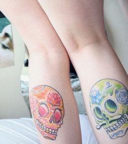 tatuajes calaveras mexicanas tattoo 3 • 2020 » 33 Tatuajes de Calaveras Mexicanas (+Significados) 11