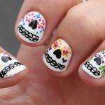 uñas decoradas catrinas 15 » Uñas decoradas de Halloween, Catrinas y Calaveras Mexicanas 8