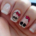 uñas decoradas catrinas 2 » Uñas decoradas de Halloween, Catrinas y Calaveras Mexicanas 10