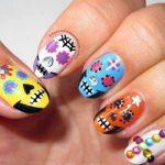uñas decoradas catrinas 3 » Uñas decoradas de Halloween, Catrinas y Calaveras Mexicanas 11