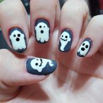 uñas decoradas halloween catrinas 23 » Uñas decoradas de Halloween, Catrinas y Calaveras Mexicanas 34