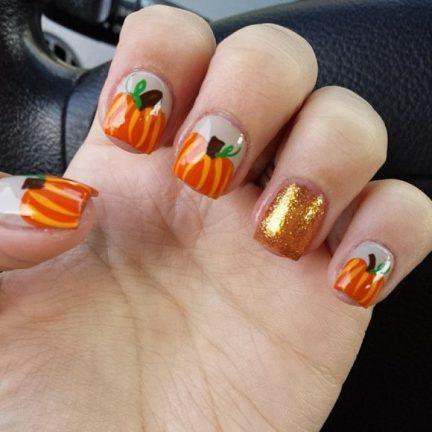 uñas decoradas halloween catrinas 25 • 2020 » Uñas decoradas de Halloween, Catrinas y Calaveras Mexicanas 31