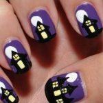 uñas decoradas halloween faciles catrinas 10 e1472750599235 » Uñas decoradas de Halloween, Catrinas y Calaveras Mexicanas 54