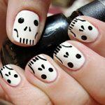 uñas decoradas halloween faciles catrinas 2 » Uñas decoradas de Halloween, Catrinas y Calaveras Mexicanas 46