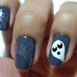 uñas decoradas halloween faciles catrinas 8 e1472750165379 » Uñas decoradas de Halloween, Catrinas y Calaveras Mexicanas 53