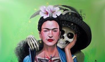 frida kahlo portada • 2020 » Frida Kahlo y la Catrina: Ideas para inspirate en la artista 8