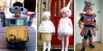 Disfraces caseros para ninos 19 • 2020 » 54 Ideas de Disfraces Caseros para Halloween 20
