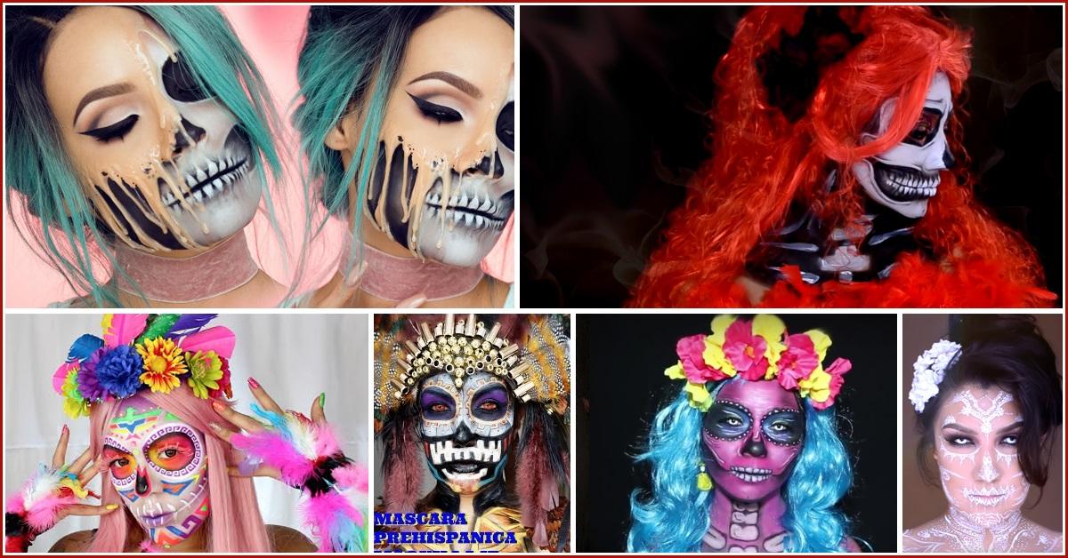 10 Videos Originales de Maquillajes de Catrinas del 2016