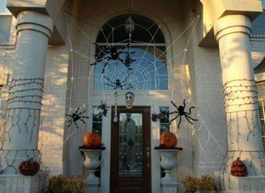 decoracion de las puertas de casa en halloween 11 » Ideas geniales para la decoración de las puertas de casa en Halloween 8