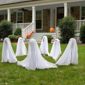 decoracion de las puertas de casa en halloween 12 » Ideas geniales para la decoración de las puertas de casa en Halloween 9