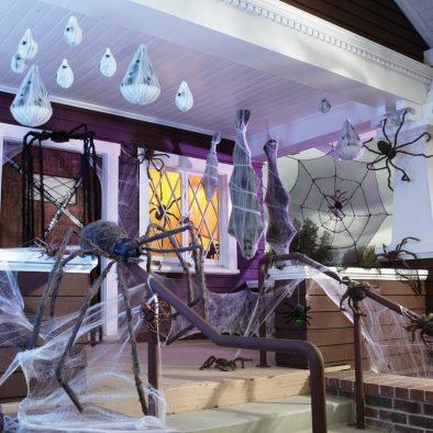 decoracion de las puertas de casa en halloween 14 » Ideas geniales para la decoración de las puertas de casa en Halloween 20