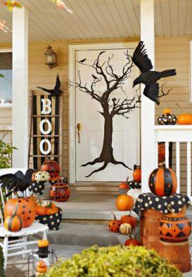 decoracion de las puertas de casa en halloween 15 » Ideas geniales para la decoración de las puertas de casa en Halloween 19