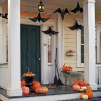 decoracion de las puertas de casa en halloween 19 » Ideas geniales para la decoración de las puertas de casa en Halloween 17