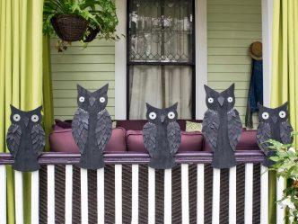 decoracion de las puertas de casa en halloween 2 » Ideas geniales para la decoración de las puertas de casa en Halloween 1