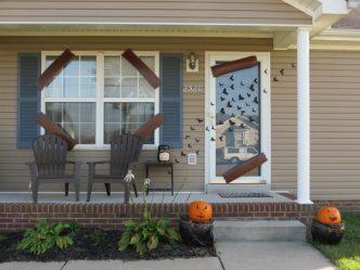 decoracion de las puertas de casa en halloween 2 » Ideas geniales para la decoración de las puertas de casa en Halloween 2