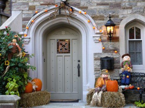 decoracion de las puertas de casa en halloween 20 » Ideas geniales para la decoración de las puertas de casa en Halloween 16
