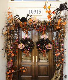 decoracion de las puertas de casa en halloween 23 » Ideas geniales para la decoración de las puertas de casa en Halloween 15
